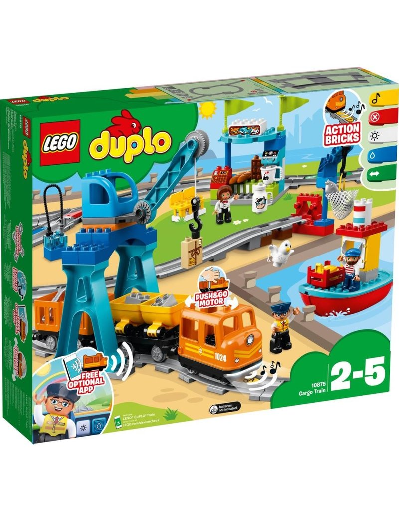 LEGO DUPLO  LEGO DUPLO 10875 - Goederentrein