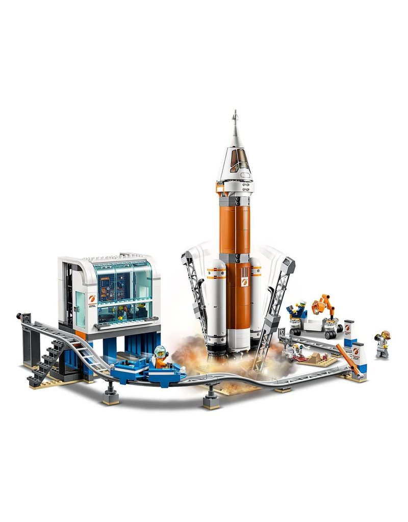 LEGO LEGO City 60228 - Ruimteraket en Vluchtleiding