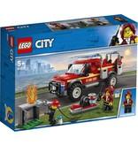 LEGO LEGO City 60231 - Reddingswagen van Brandweercommandant