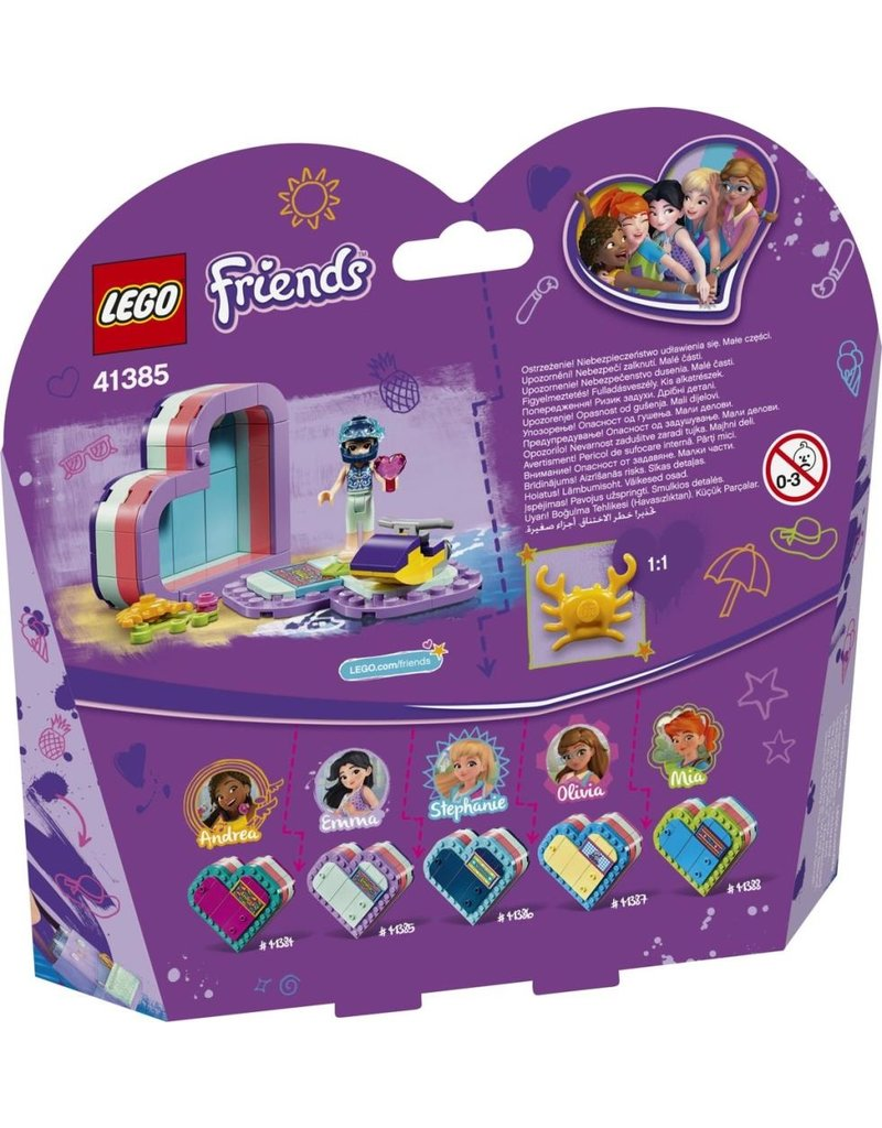 LEGO LEGO Friends 41385 - Emma`s Hartvormige Zomerdoos