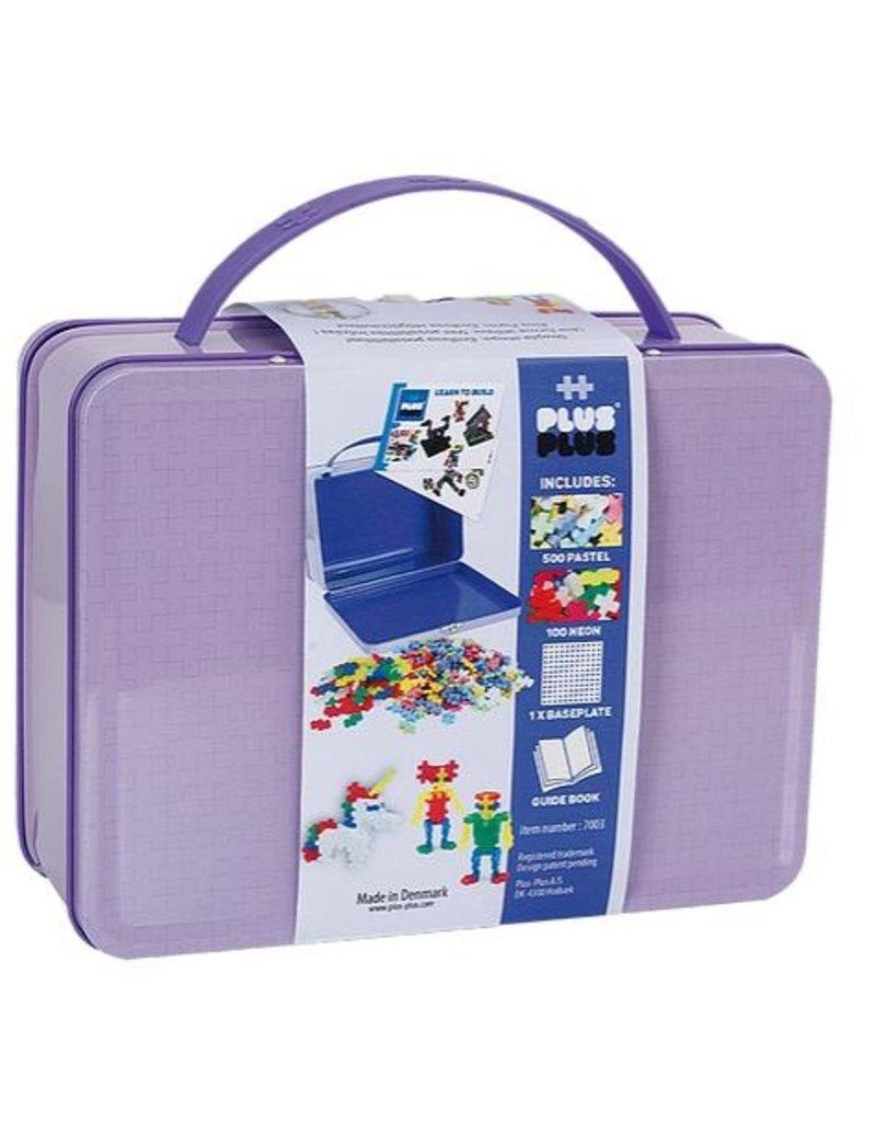 Plus-Plus Plus-Plus 7003 - Mini Pastel Reiskoffer 600 stukjes