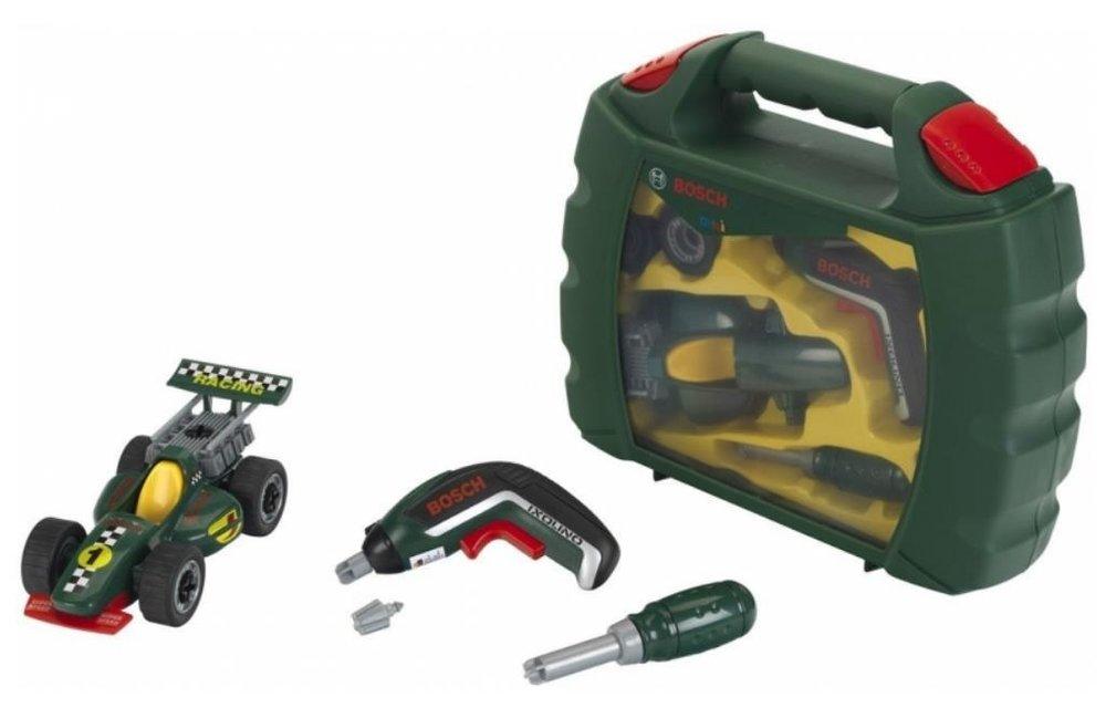 Bosch Mini 8395 Grand Prix Koffer Met Ixolino Ii Bouwspeelgoed Nl