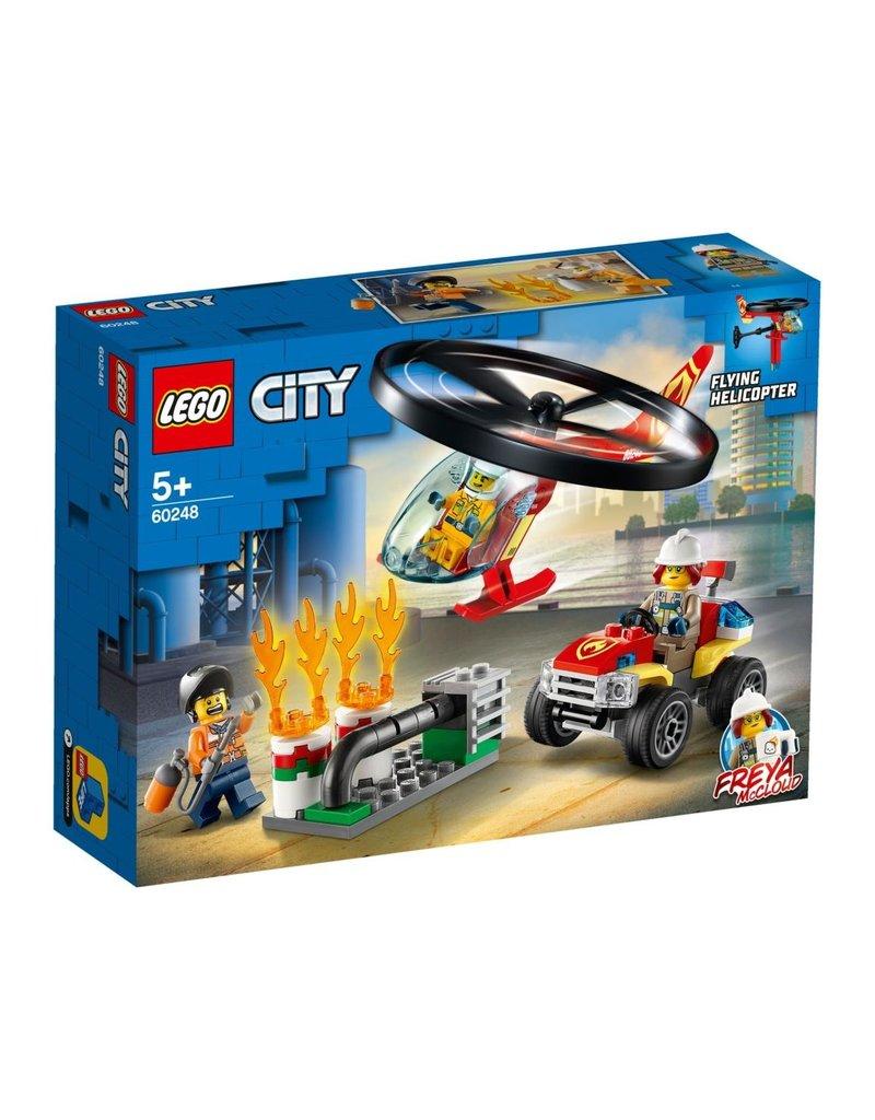LEGO LEGO City 60248 - Brandweerhelikopter Reddingsoperatie