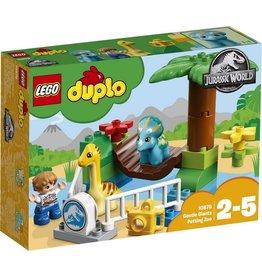 LEGO DUPLO  LEGO DUPLO 10879 - Jurassic World Kinderboerderij met Vriendelijke Reuzen