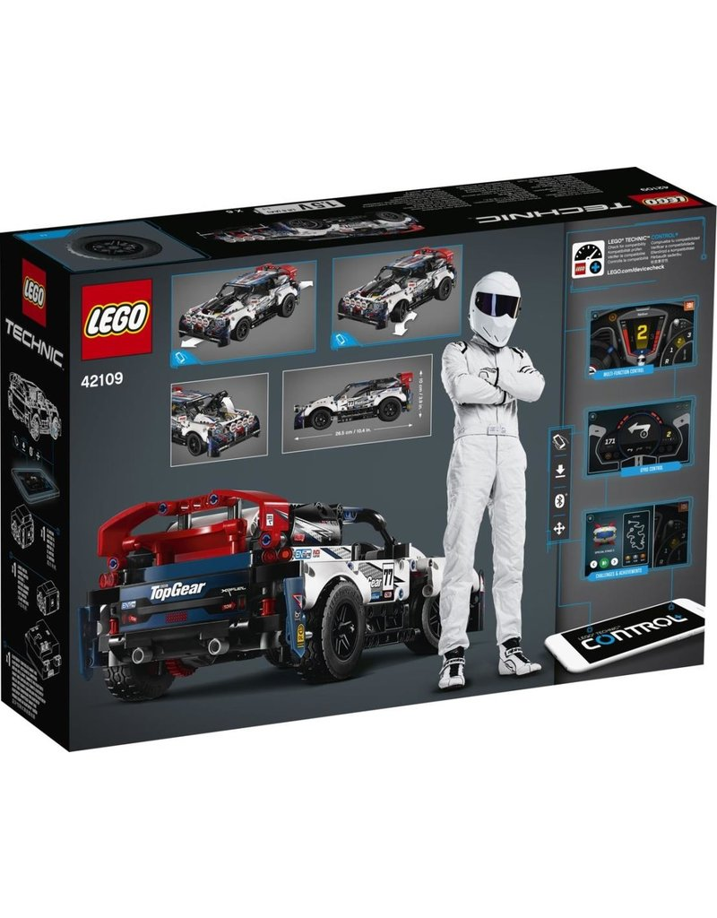 LEGO LEGO Technic 42109 - Top Gear rallyauto met app-bediening