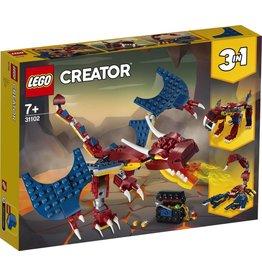 LEGO LEGO Creator 31102 - Vuurdraak