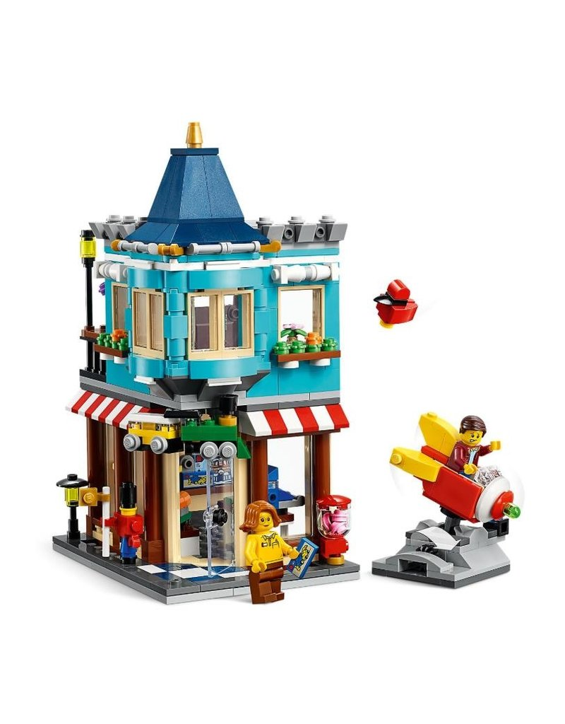LEGO LEGO Creator 31105 - Woonhuis en speelgoedwinkel