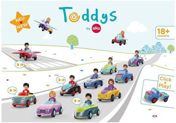Nieuw: Toddys by Siku
