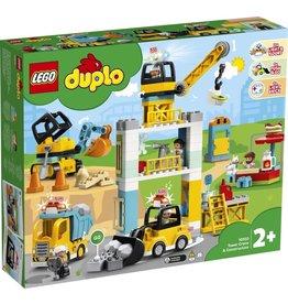 LEGO DUPLO  LEGO DUPLO 10933 - Torenkraan en Bouwterrein