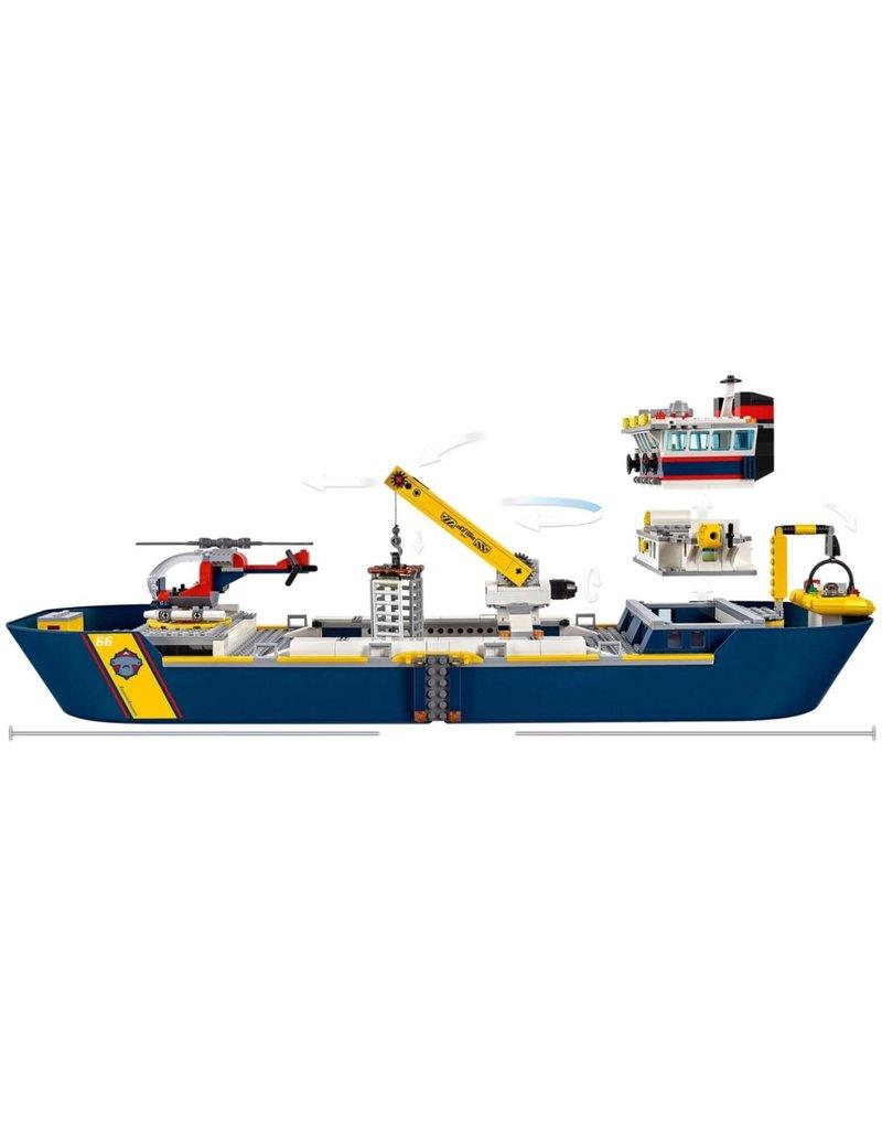 LEGO LEGO City 60266 - Oceaan Onderzoeksschip