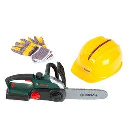 Bosch Mini Bosch Mini Kettingzaag met Helm en Handschoenen 8456