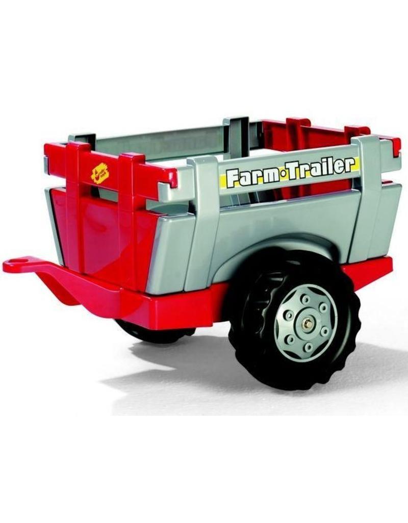 Rolly Toys Rolly Toys 122097 - Farm Trailer rood/grijs