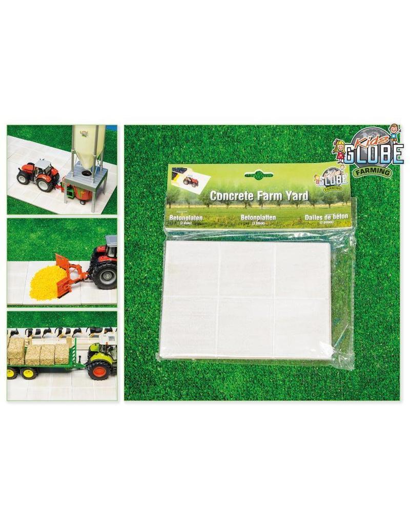 Kids Globe Kids Globe 610003 - Betonplaten per 3 verpakt 1:32