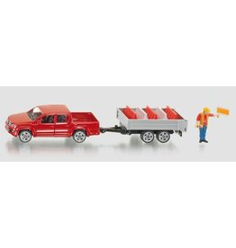 Siku Siku 3543 - Pick-Up met kipper aanhanger 1:55