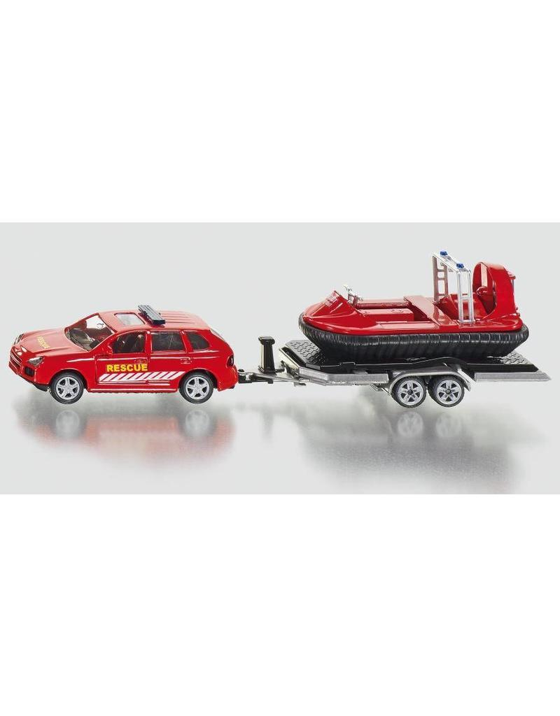 Siku Siku 2549 - Reddingsauto met aanhanger en hovercraft 1:50