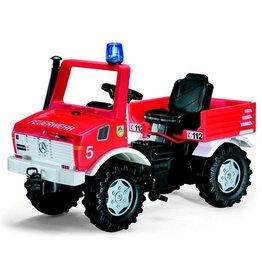 Rolly Toys Rolly Toys 036639 - Brandweer Unimog met 2 versnellingen en rem