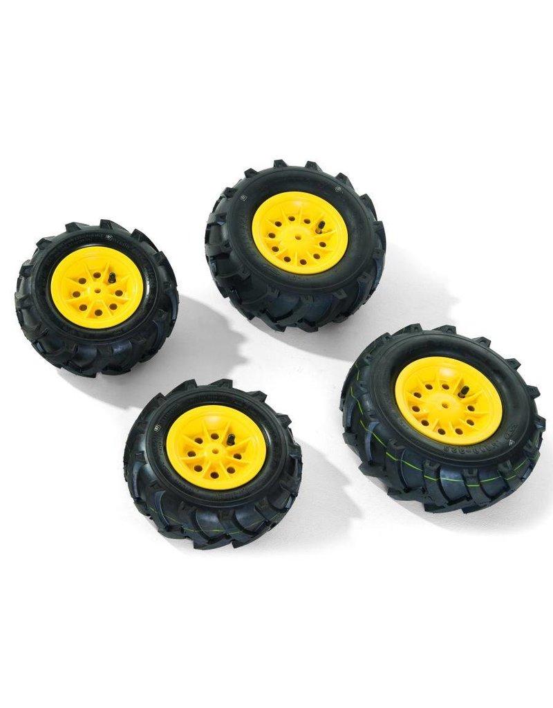Rolly Toys Rolly Toys Luchtbanden Geel voor Tractoren RT6.. & RT8.. (4 stuks)