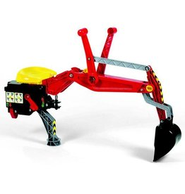 Rolly Toys Rolly Toys Graafmachine rood (voor tractoren 03 / 04 / Unimog)