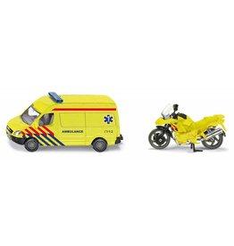 Siku Siku 1654 - Ambulance set (auto met motor) 1:87
