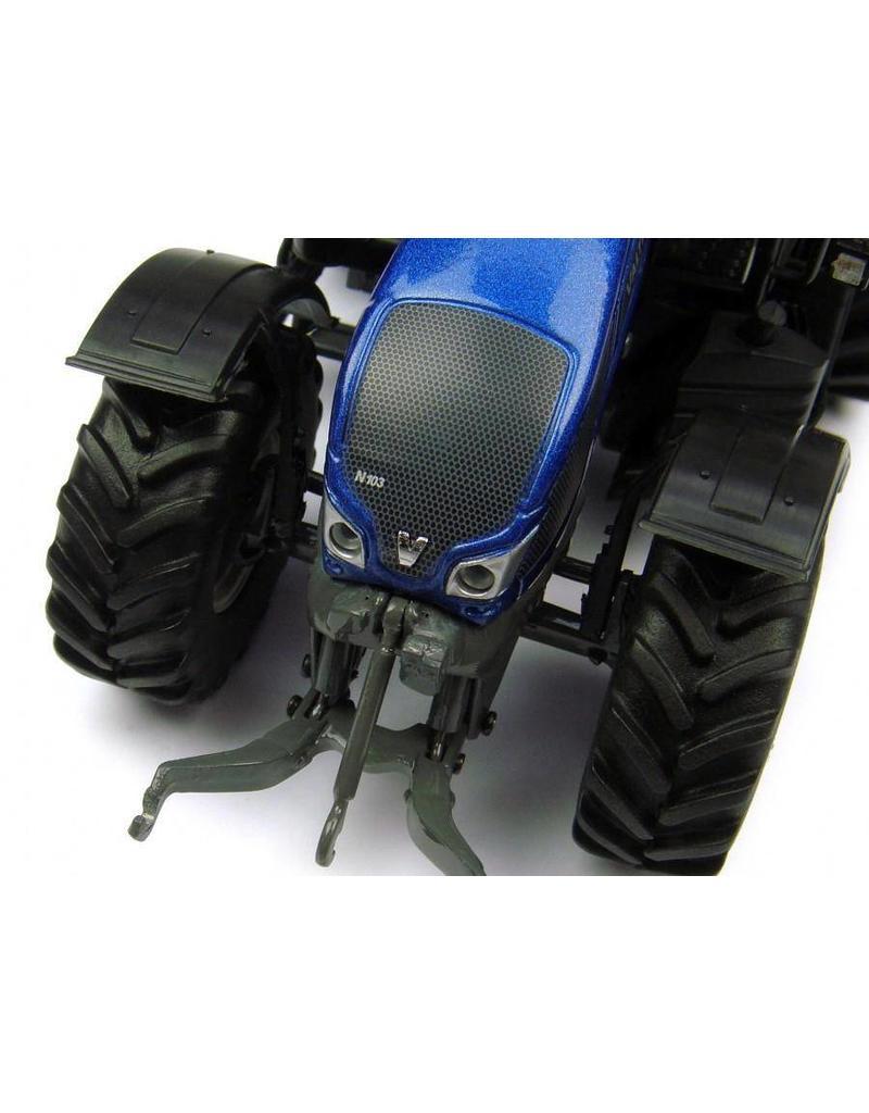 Universal Hobbies Universal Hobbies 4210 - Valtra Small N103 - Metallic blauw 1:32