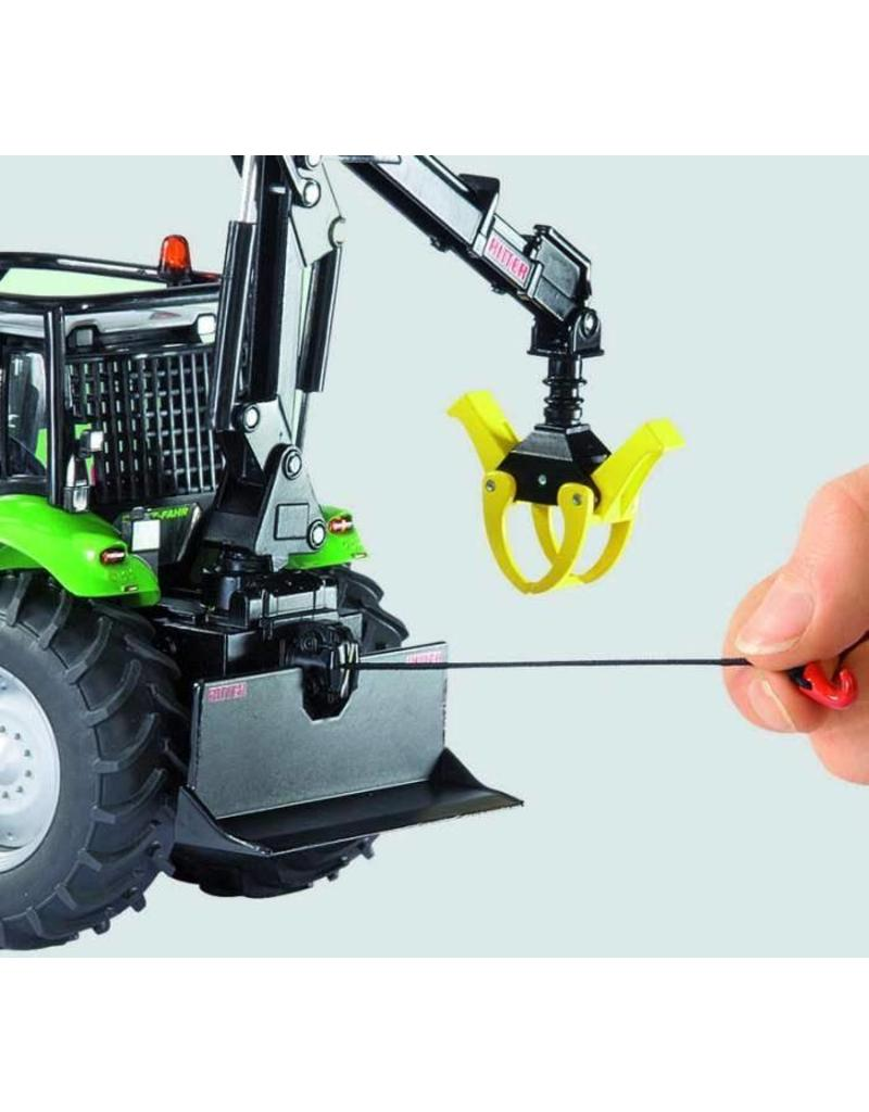 Siku Siku 3657 - Deutz Agrotron X720 bosbouw tractor 1:32