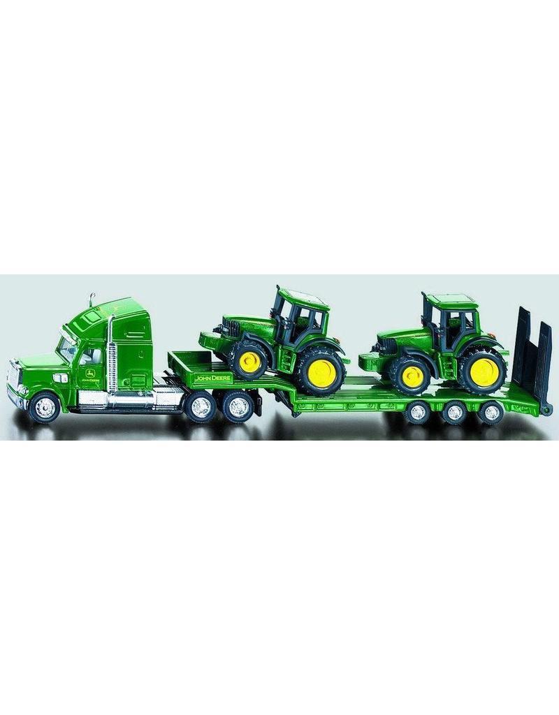 Siku Siku 1837 - Dieplader met John Deere tractoren 1:87