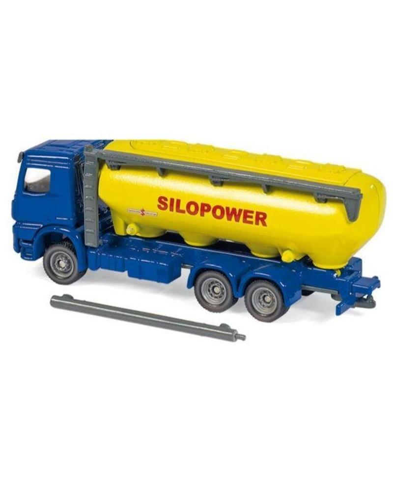 Siku Siku 1809 - Vrachtwagen met veevoersilo 1:87