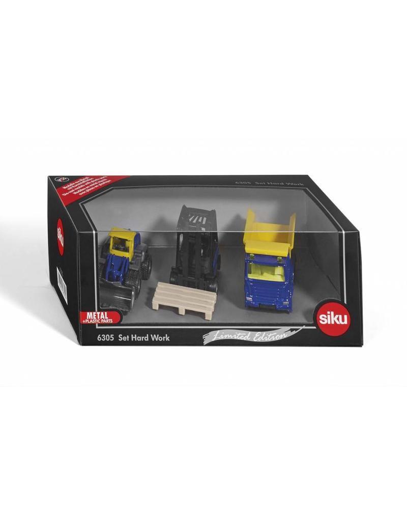 Siku Siku 6305 - Geschenkset Werkvoertuigen (Limited Edition)