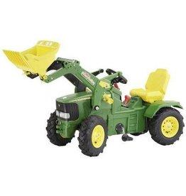 Rolly Toys John Deere 6920 met luchtbanden, RollyTrac lader, 2 versnellingen en rem