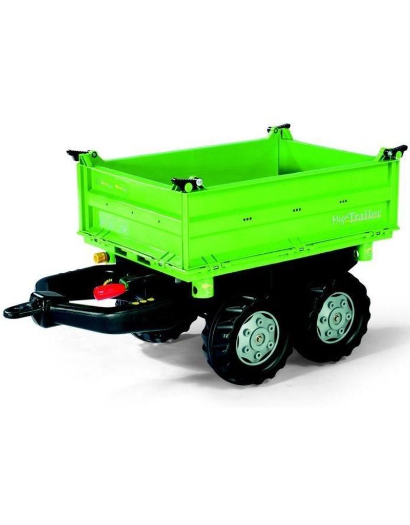 Rolly Toys Rolly Toys 121502 - Mega Trailer Deutz groen