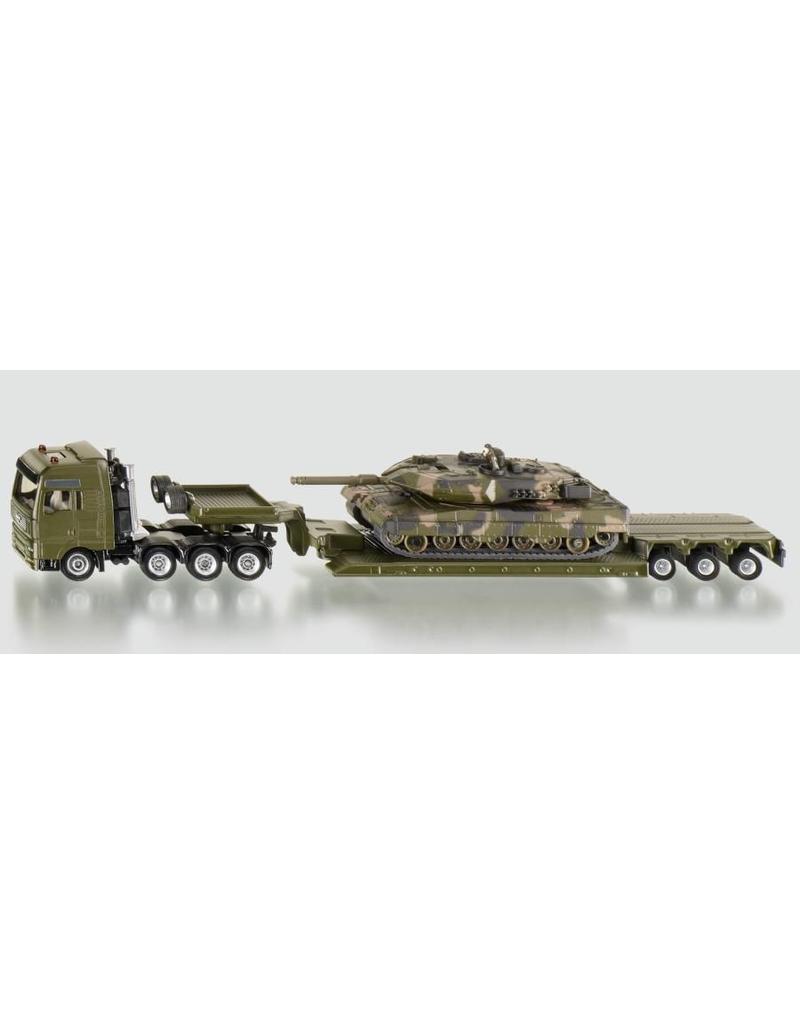 Siku Siku 1872 - Zwaartransport met tank 1:87