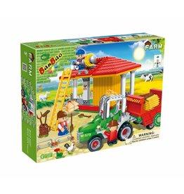 BanBao 8573 - Tractor & Hooi opslag