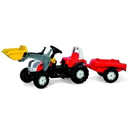 Rolly Toys Rolly Toys 023936 - RollyKid Steyr met frontlader en aanhanger