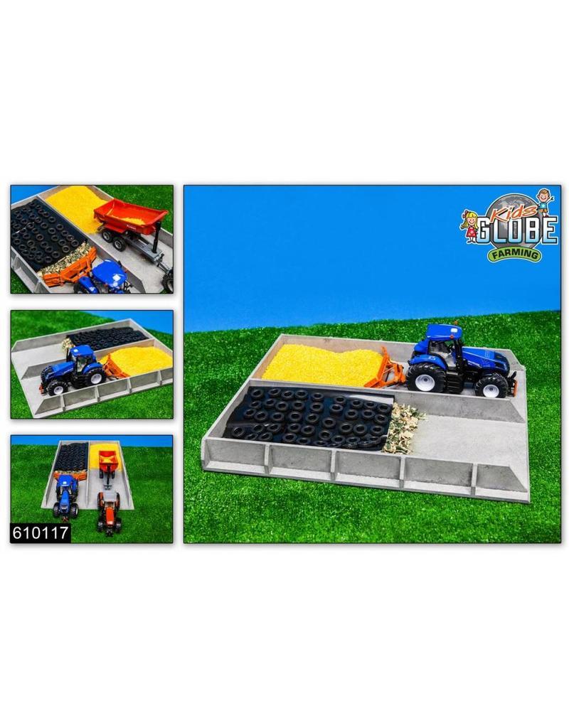 Kids Globe Kids Globe 610117 - Mais / graskuil grijs betonlook (1:32 / Siku)