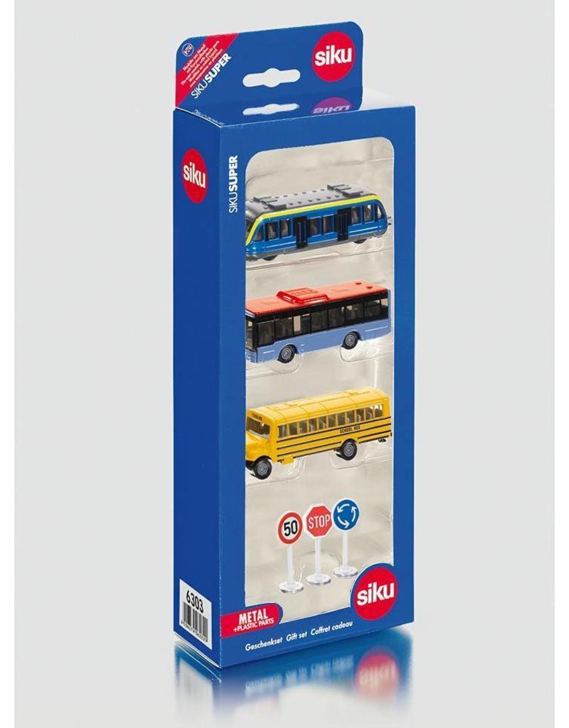 Siku Siku 6303 - Geschenkset stadsvervoer
