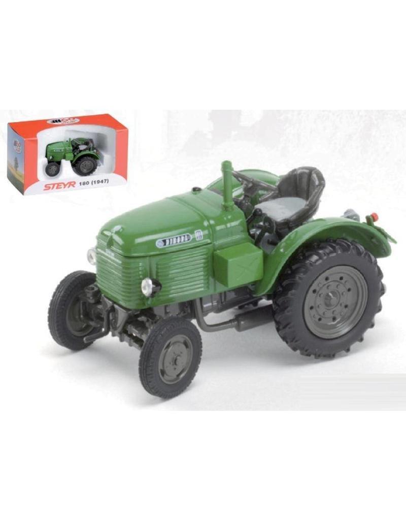 """Ros Ros 30111.5 - Steyer 180 - """"Kikker"""" - diesel (1947) - Groen 1:32"""