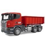 Bruder Bruder 3522 - Scania vrachtwagen met afzetcontainer