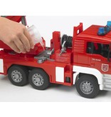 Bruder Bruder 2771 - MAN brandweer met draailadder licht en geluid