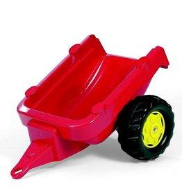 Rolly Toys Rolly Toys 121700 - RollyKid aanhanger rood met gele velgen