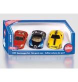 Siku Siku 6301 - Geschenkset super sportwagens 1:87