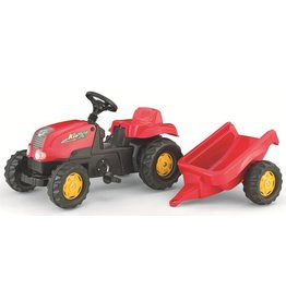 Rolly Toys Rolly Toys 012121 - RollyKid X met aanhanger rood