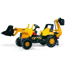 Rolly Toys Rolly Toys 812004 - RollyJunior JCB Trac met Frontlader en graafmachine