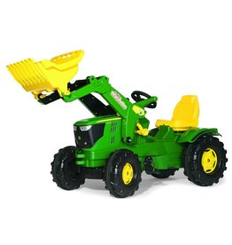 Rolly Toys Rolly Toys 611096 - John Deere 6210 R met Rolly Trac lader