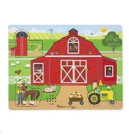 Geluidpuzzel Rond de boerderij