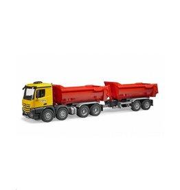 Bruder Bruder Combideal: BF3623 MB Arocs Halfpipe Dumo Truck + BF3923 Halfpipe aanhanger
