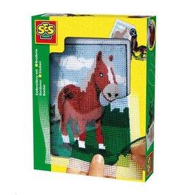 SES Borduren paard