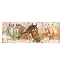 Vloerpuzzel paarden