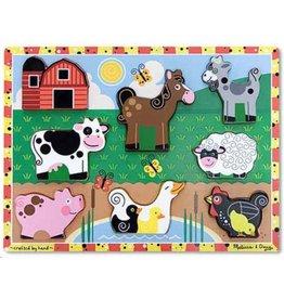 Chunkypuzzel boerderij 8 stukjes
