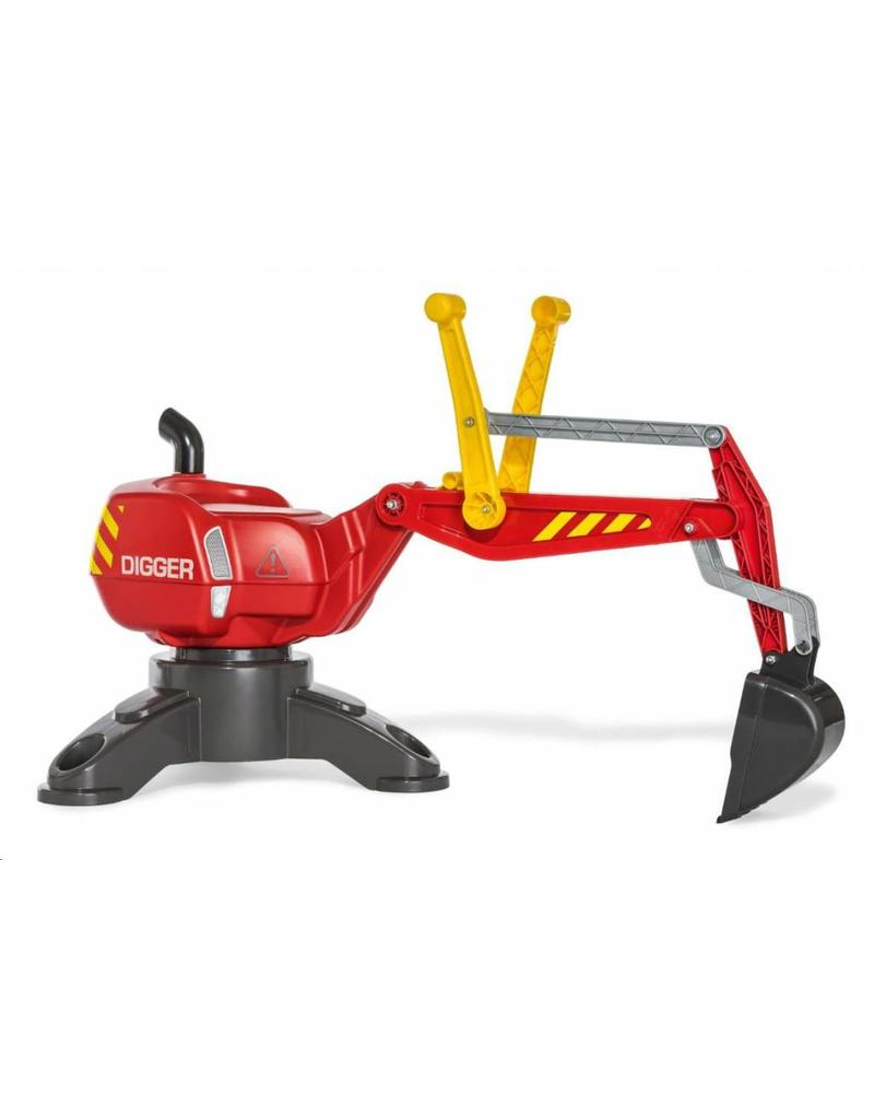 Rolly Toys Rolly Toys 422036 - Rolly Digger rood met steunpoot