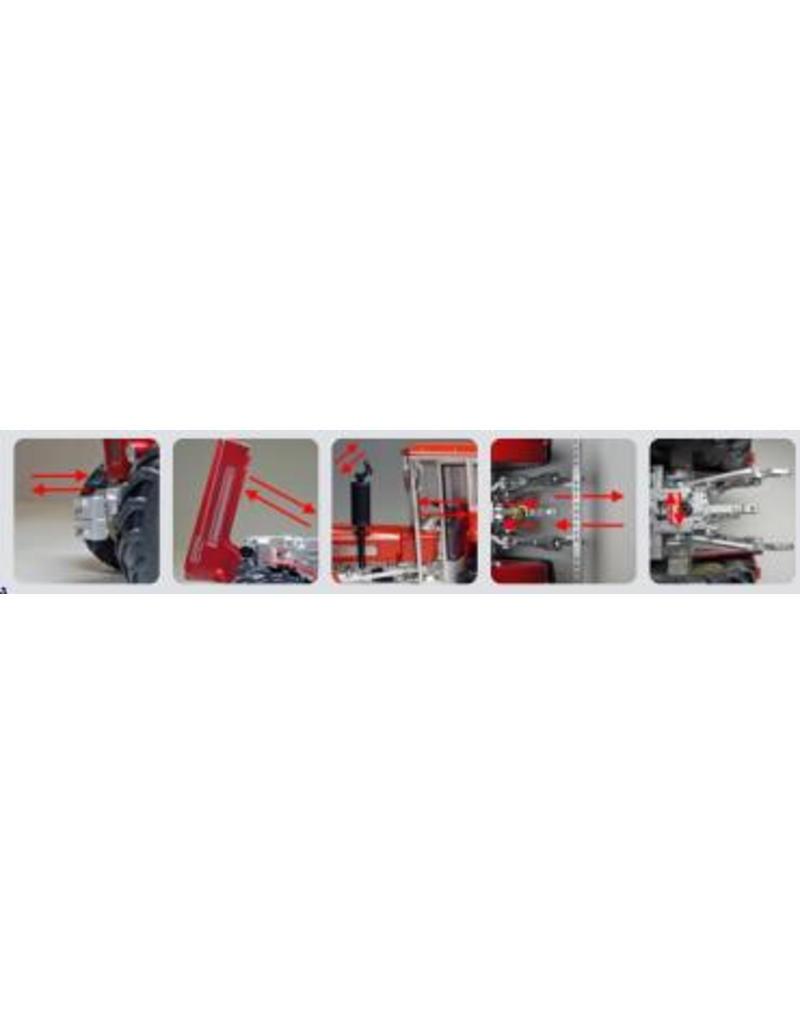 Weise Toys Weise Toys 1055 - Schluter Super 1250V met Cabine (1968-1973) 1:32